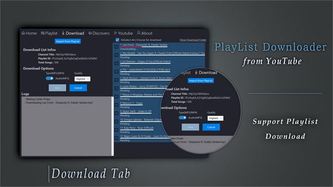 Get Youtube PlayList Downloader - Best Downloader & Converter - Microsoft  Store
