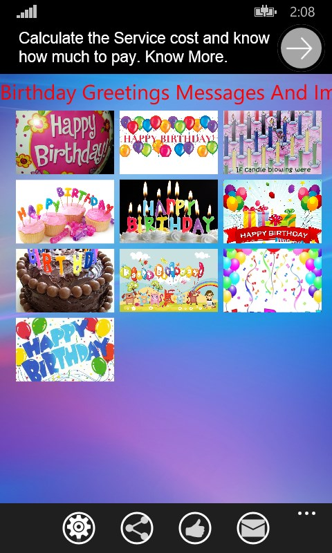 pata birthday greetings messages store sw ke