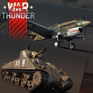 War Thunder - Tomahawk and M4A4 Sherman Bundle Xbox One