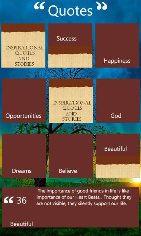 Inspirational Quotes Screenshots 1