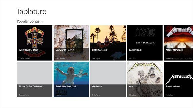 Get Tablature - Microsoft Store