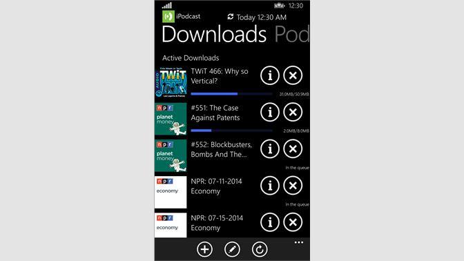 Get i Podcast - Microsoft Store
