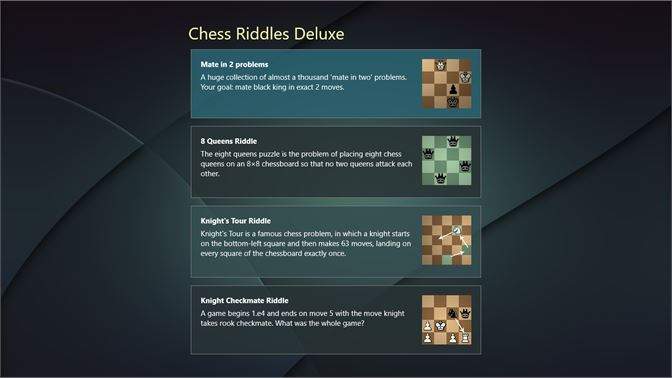 Get Chess Riddles Deluxe - Microsoft Store en-SA