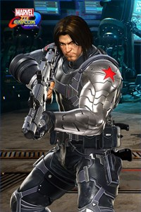 Carátula del juego Marvel vs. Capcom: Infinite - Winter Soldier