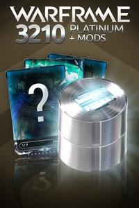 Warframe®: 3210 Platinum + Mods
