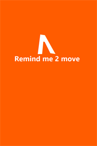 Remind Me 2 Move