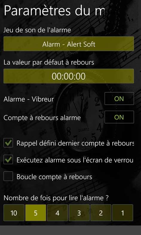 Obtenir chronom tre minuteur microsoft store fr ca - Chronometre et minuteur ...