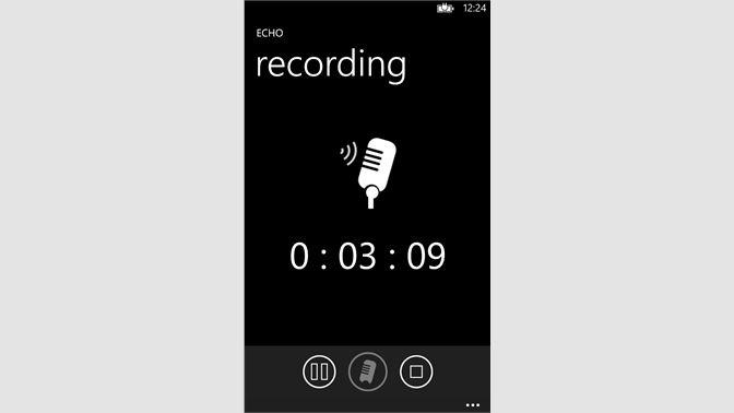 Get Echo - Recorder - Microsoft Store