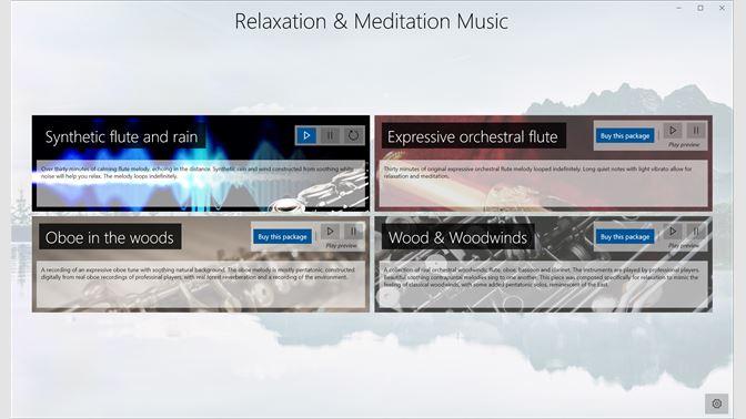 Mua Relaxation and Meditation Music - Microsoft Store vi-VN
