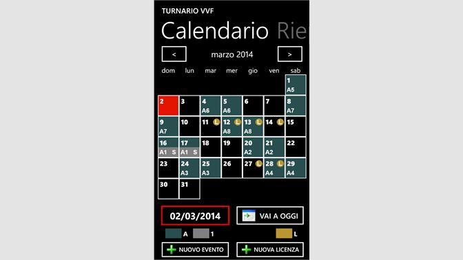 Calendario Vvf.Acquista Turnario Vvf Microsoft Store It It