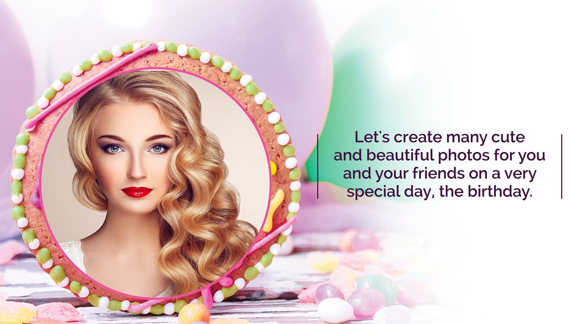 Get Name Photo On Birthday Cake Microsoft Store En In