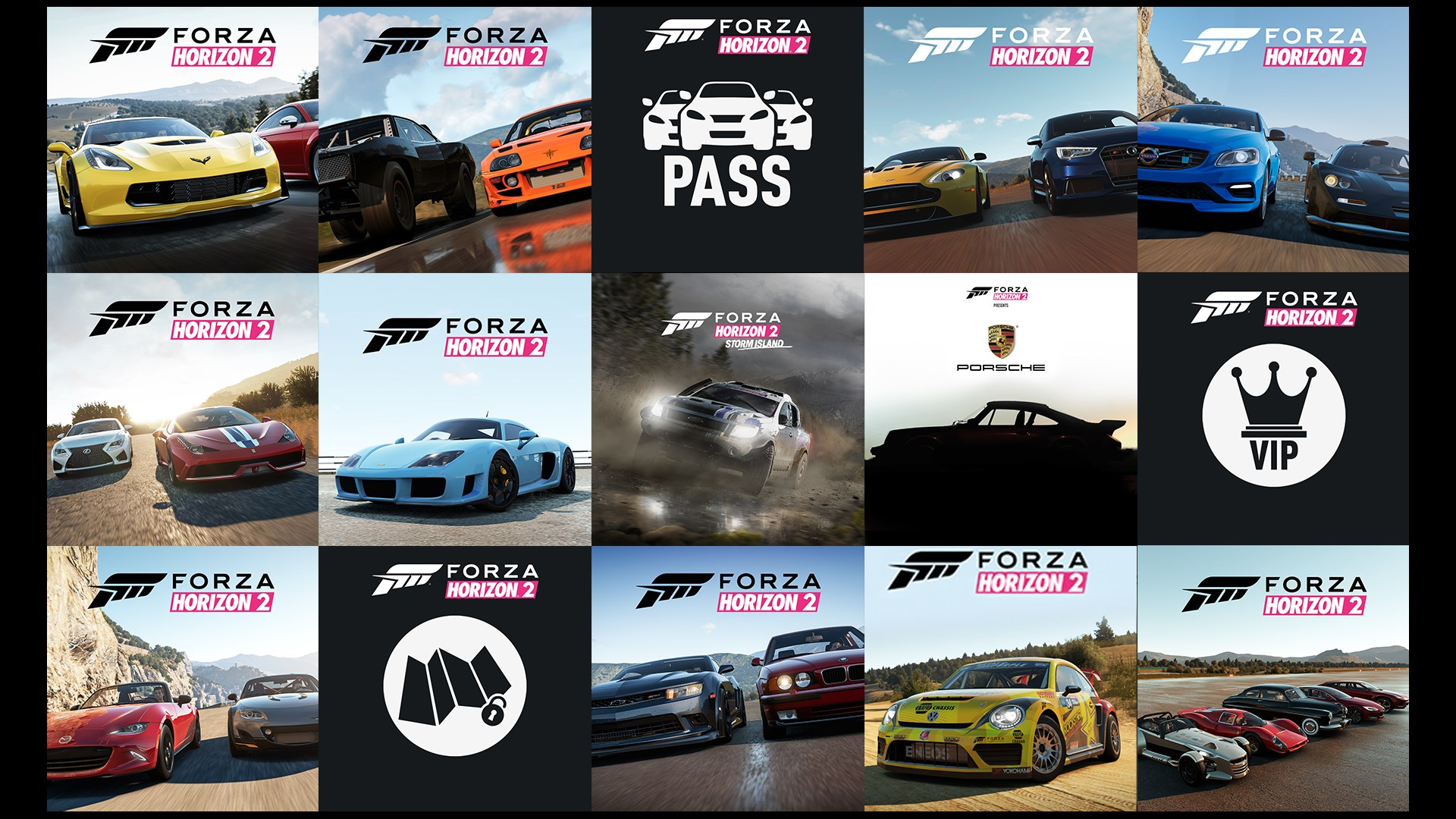 Forza Horizon 2 Complete Add-Ons Collection