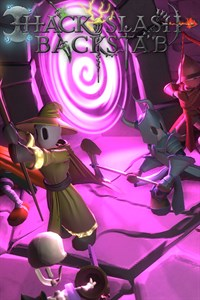 Carátula del juego Hack, Slash & Backstab