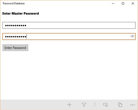 Password Database Screenshots 2