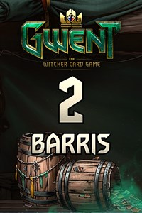 GWENT – 2x barris de cartas