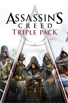 Buy Assassin's Creed Triple Pack: Black Flag, Unity, Syndicate