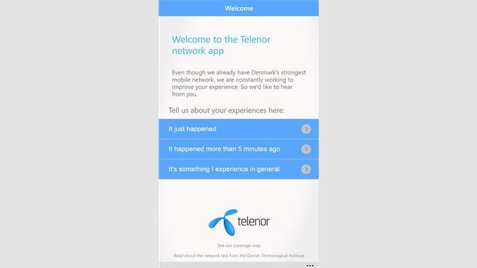 Telenor Coverage Map