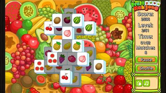 Fruit Mahjong' screenshot 1