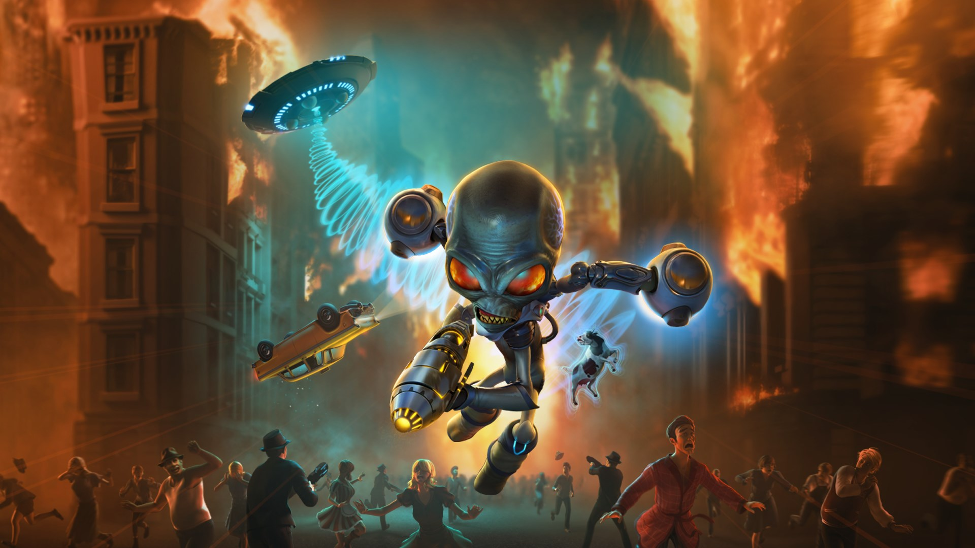 Buy Destroy All Humans! Pre Order - Microsoft Store en-CA