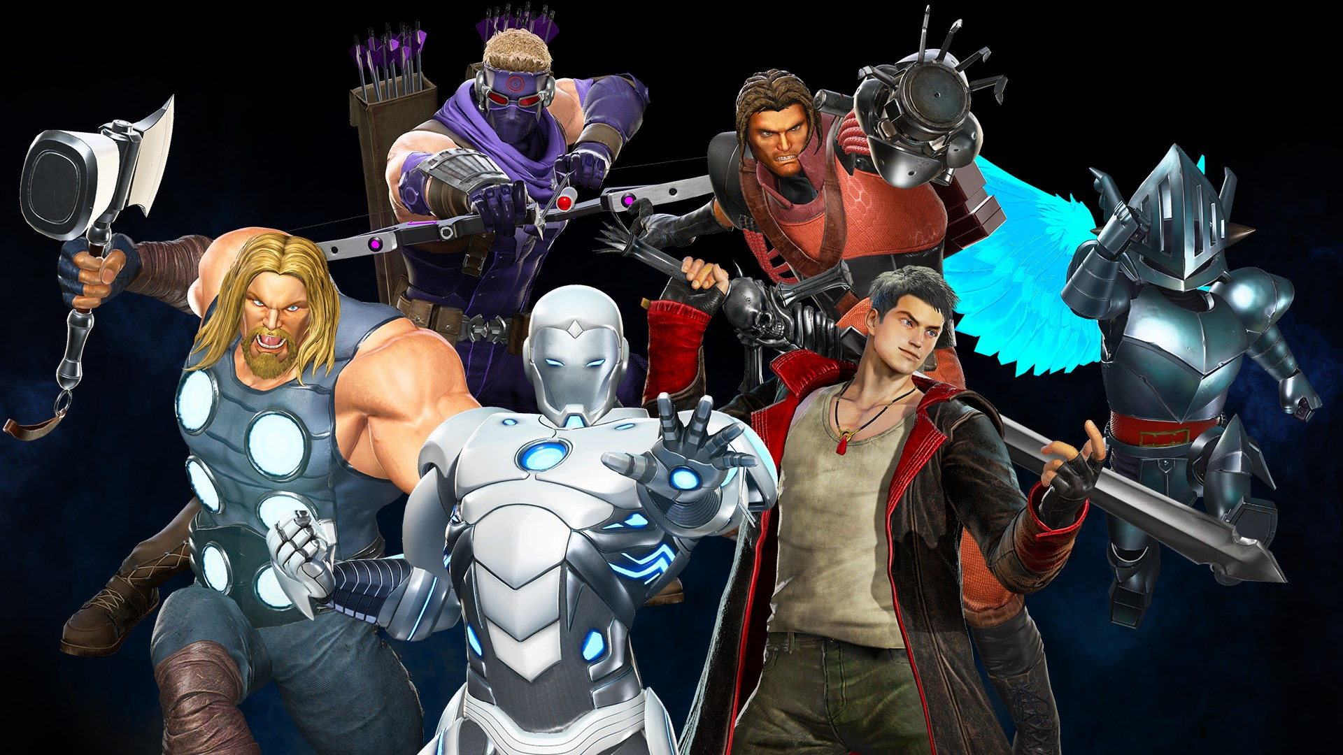 Marvel vs. Capcom: Infinite - Avenging Army Costume Pack