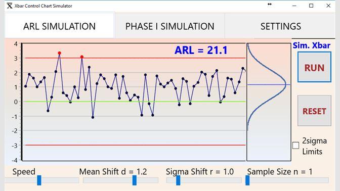 Get ARL Xbar control chart - Microsoft Store