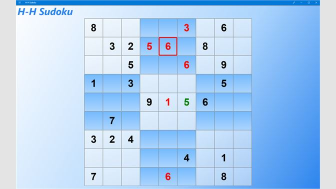 get h h sudoku microsoft store