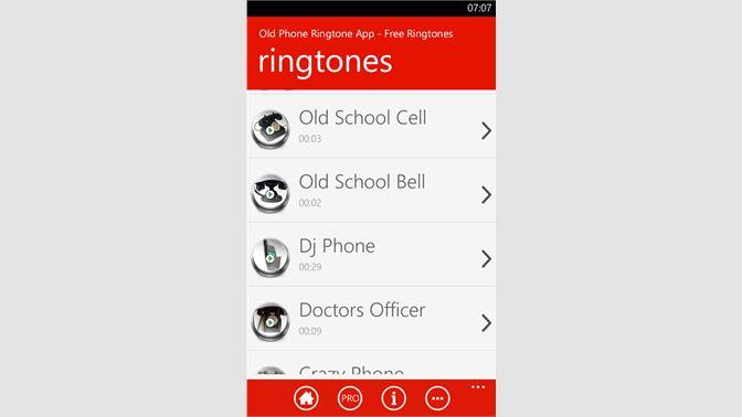 Get Old Phone Ringtone App - Free Ringtones - Microsoft Store