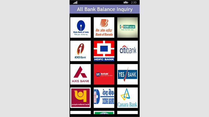 Get All Bank Balance Enquiry - Microsoft Store en-IN