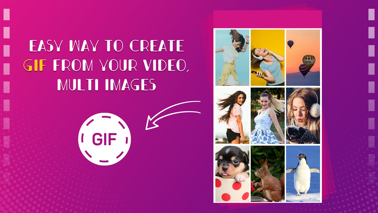 Get GIF Maker, GIF Editor, Video Maker and Video to GIF