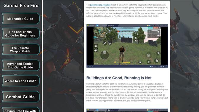 Buy Garena Free Fire Game Guide - Microsoft Store en-AW