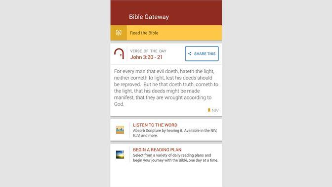 Get Bible Gateway Mobile - Microsoft Store