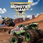 Monster Jam Steel Titans Logo