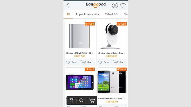 e61f017bea580 Get Banggood App - Microsoft Store