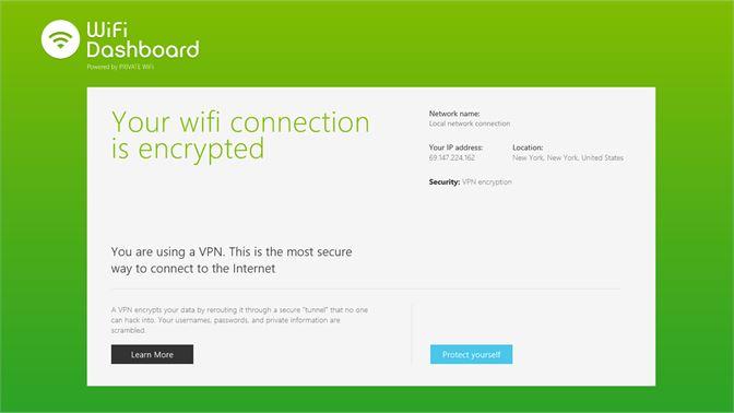 Get WiFi Dashboard - Microsoft Store