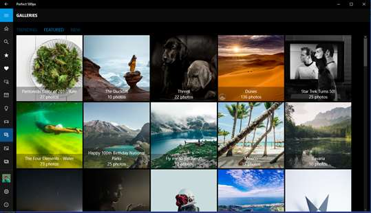 Perfect 500px screenshot 7