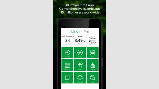 Get Muslim Pro - Microsoft Store