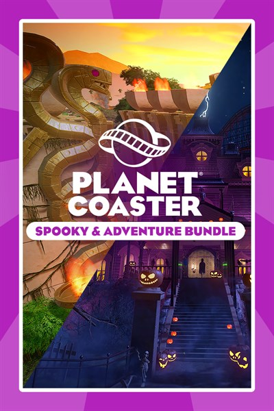 Planet Coaster: Spooky & Adventure Bundle