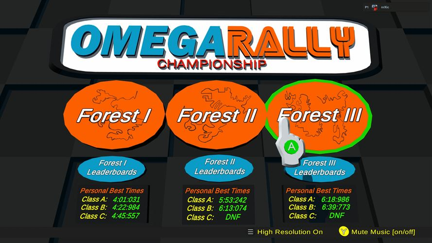 Omega Rally Championship Screenshot