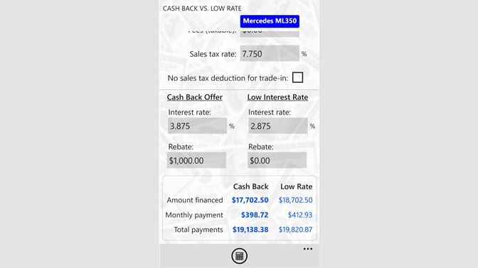 buy auto loan calcs pro microsoft store yo ng