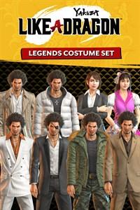 Yakuza: Like a Dragon Set de disfraces de leyendas