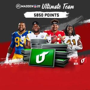 Madden NFL 20: Madden Ultimate Team 5850포인트 Xbox One