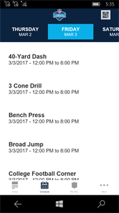 NFL Combine - Fan Mobile Pass screenshot 3