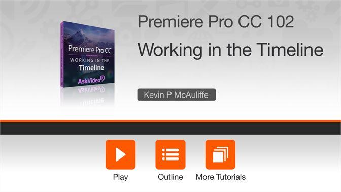 Buy Timeline Course For Premiere Pro CC - Microsoft Store en-CA