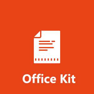 Office Kit - Powerful editor for Adobe pdf and Microsoft doc docx xls xlsx ppt pptx
