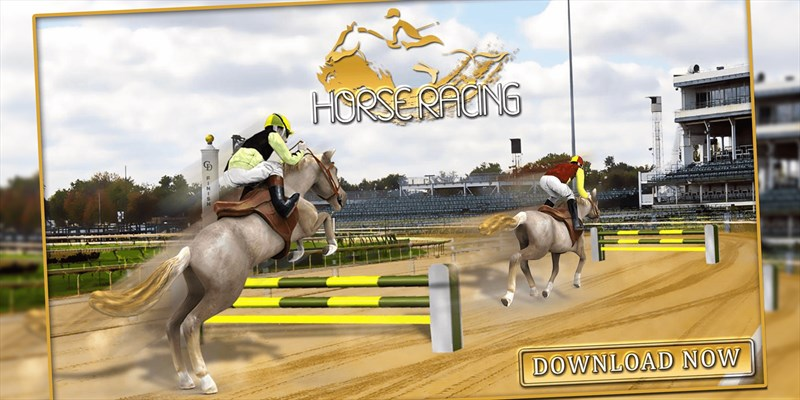 Get Horse Racing Simulator 3D - Derby Jockey Riding