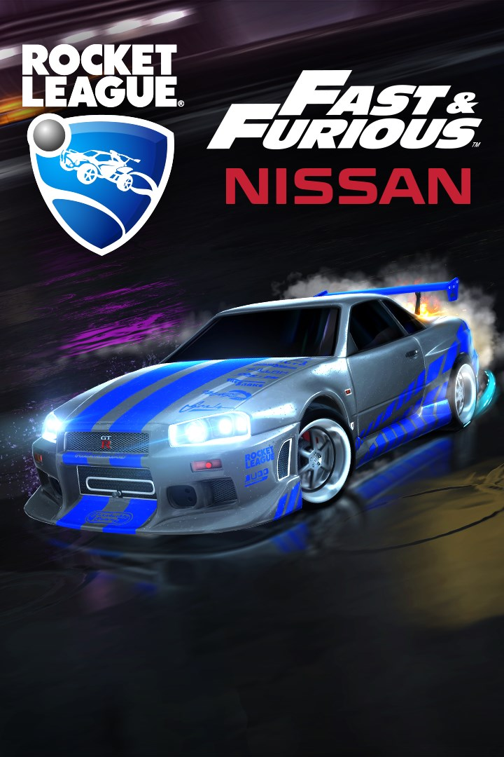 Comprar Rocket League Fast Furious 99 Nissan Skyline Gt R R34 Microsoft Store Pt Br