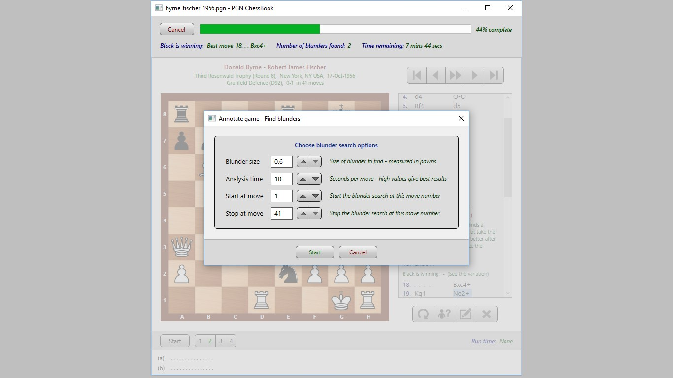 PGN Chess Book for Windows 10