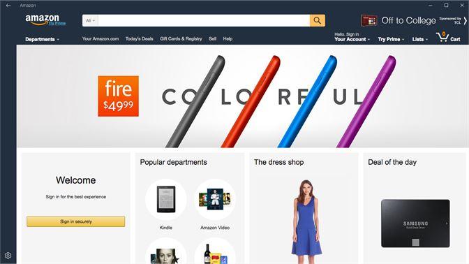Get Amazon - Microsoft Store