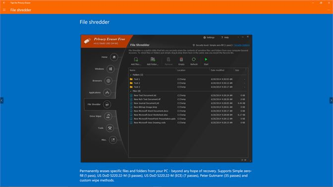 Get Tips for Privacy Eraser - Microsoft Store