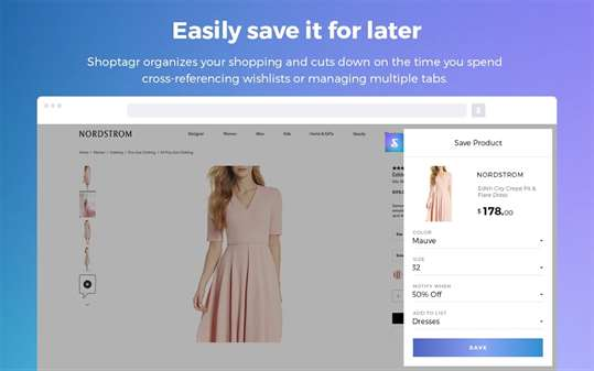 Shoptagr - Your Personal Shopping Assistant screenshot 2